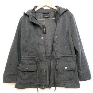 NWT miss Lili  hooded jacket pm